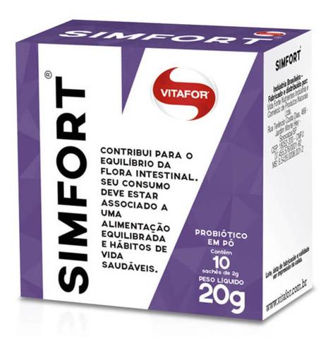 simfort probiótico sachês 10x2g