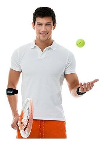 simien tennis elbow brace (2-count), alivio del dolor del co