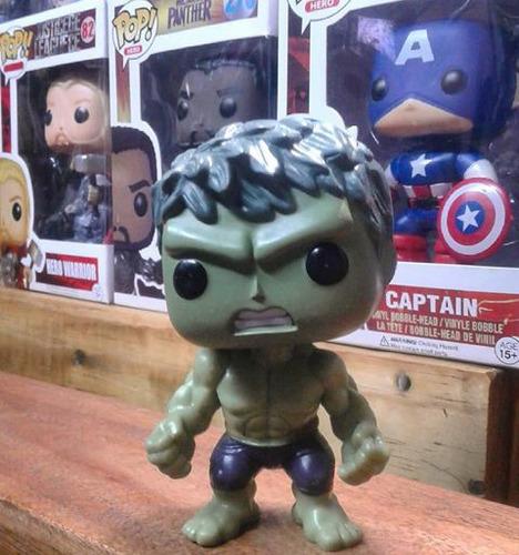 simil funko pop de hulk