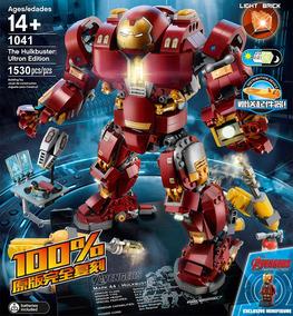 Simil Lego Sy1041 1530 Iron Mk44 Piezas 25 Hulkbuster Man Cm oedxrWCB
