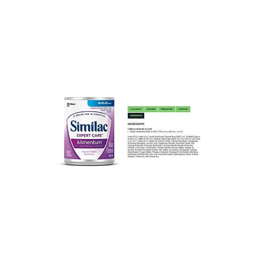similac expert care alimentum formula ready-to-feed 6-pk (8