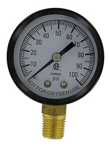 simmons manufacturing 1305 100 psi manómetro de baja presión