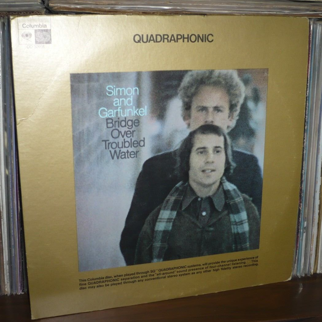Simon Garfunkel Bridge Over Troubled Water