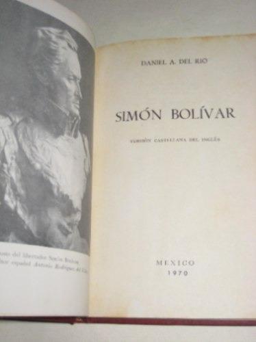 simon bolivar daniel a. del rio 1970