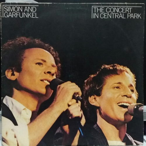 simon & garfunkel the concert in central park 1982(lp duplo)