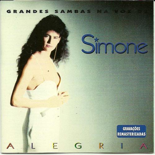 simone - alegria grandes sambas na voz de simone