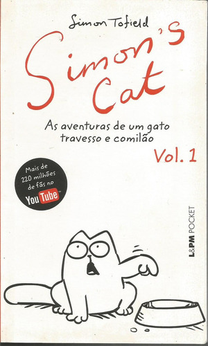 simon´s cat, as aventuras de um gato travesso e comilão