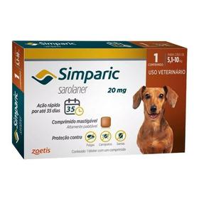 Simparic De 5,1 A 10 Com 3 Comprimidos Original Promoção