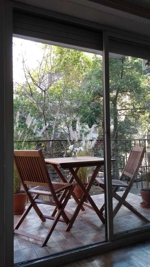 simpáticos 2 ambientes con balcon luminoso todo equipado !!!