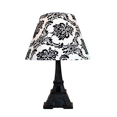 simple designs home lt dsk lámpara de torre eiffel con tela