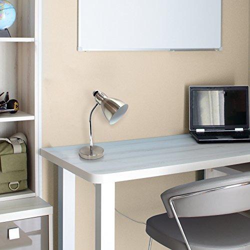 simple designs inicio ld bsn lámpara de escritorio semi-fle