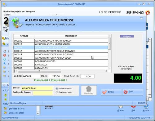 simple kioscos plus, el programa mas completo para kioscos