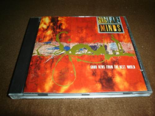 simple minds - cd album - good news from the next world