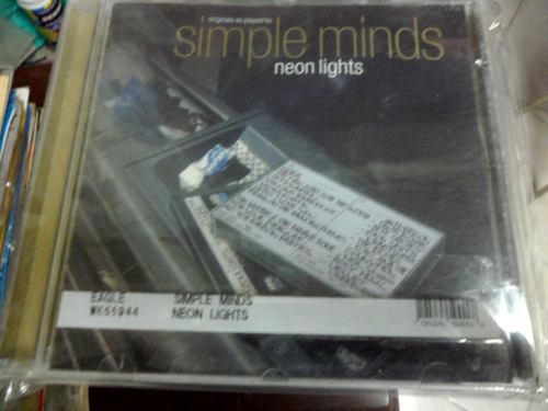 simple minds cd neon lights