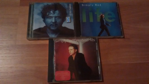 simple red lote 3 cds impecables
