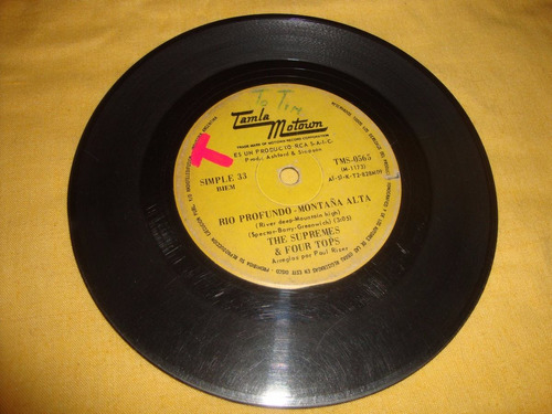 simple the supremes & four tops rca caja 2