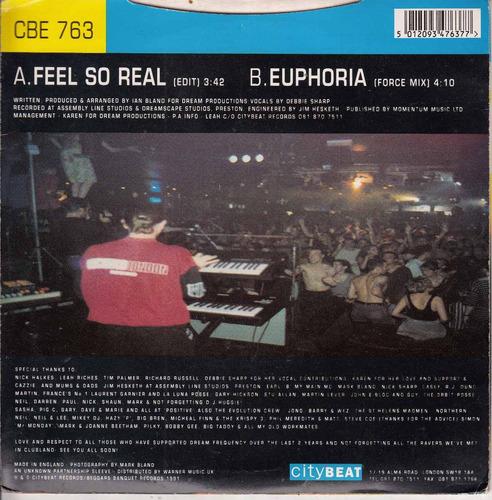 simple vinilo 7  house dance dream frequency feel so real uk