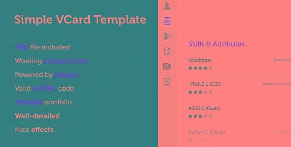 Simple virtual business card template r 2500 em mercado livre simple virtual business card template reheart Gallery