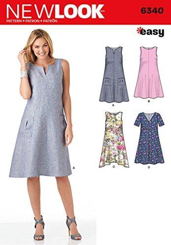 nuevos vestidos mujer un634 de simplicidad fáciles patrones wgSnq8wWC