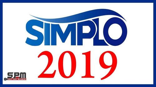 simplo 2019 esquemas mercosur inyeccion electronica
