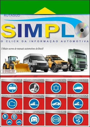 simplo programa automotriz, inyección electrónica.