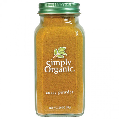 simply organic curry en polvo 85g