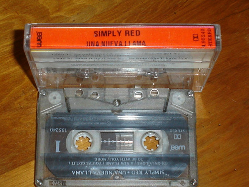 simply red. cassette. 1989. a new flame.