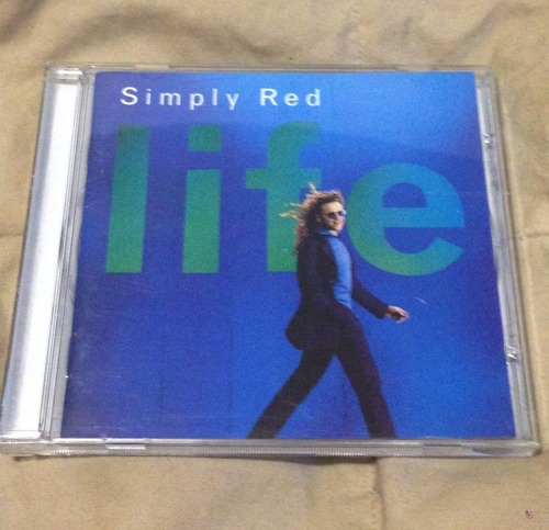 simply red life cd