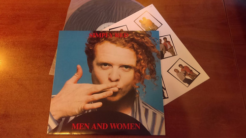 simply red - men and women (vinilo) ed. japonesa