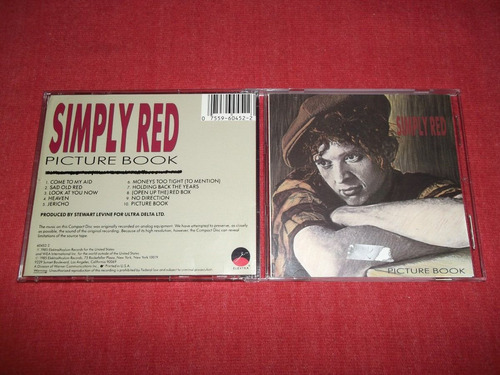 simply red - picture book cd imp ed 1990 mdisk