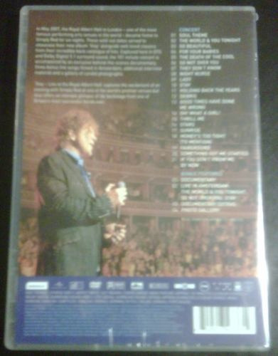 simply red: stay - live at the royal albert hall (dvd) pm0