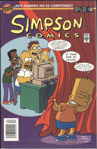 simpson comics # 52 (contemporáneos)