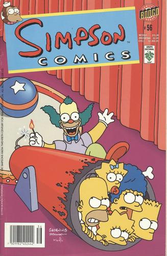simpson comics # 56 (contemporáneos)