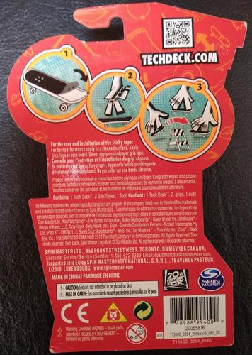 simpsons 2012 tech deck homer