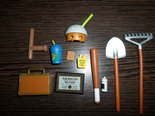 simpsons accesorios playmates