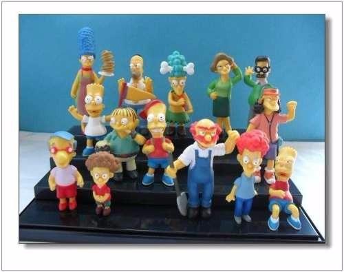 simpsons- bonecos (6 a 12cm)- kit 3 peças