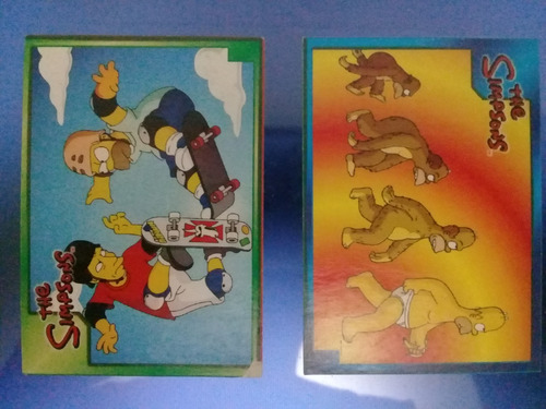 simpsons  cartas coleccionables