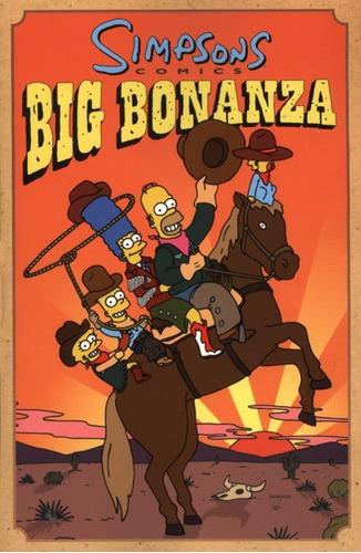 simpsons comics - big bonanza  - tpb - en ingles