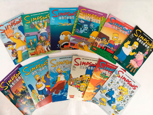 simpsons comics. comic,