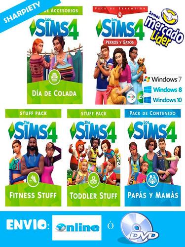 sims 4 (incluye todas las expansiones 2018) pc