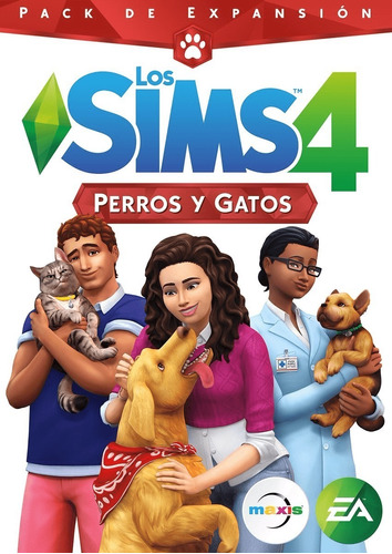 sims 4 perros y gatos - cats and dogs - pc expansion origin