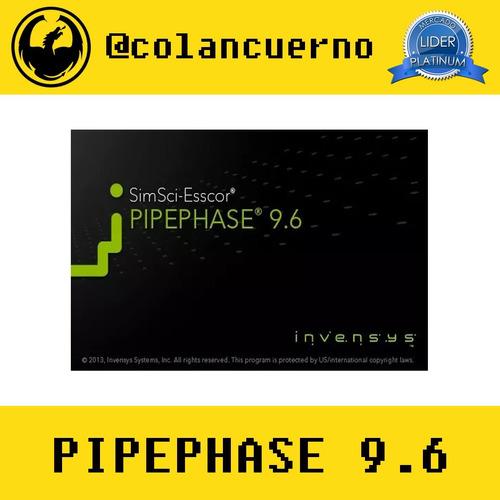 simsci pipephase 9.6: simulador de procesos