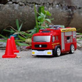 Mini Fuego Camión Simulación Para Juguete Motor Niños EWDH9Y2I
