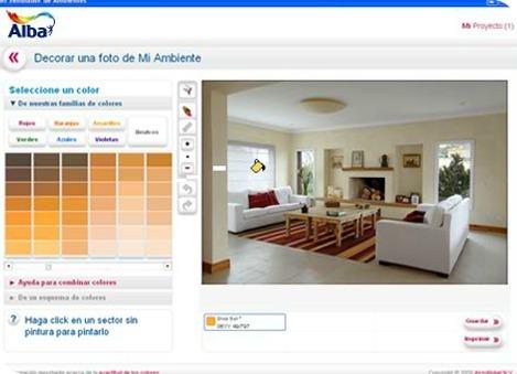 simulador de ambientes, software $1(un peso, precio ok)