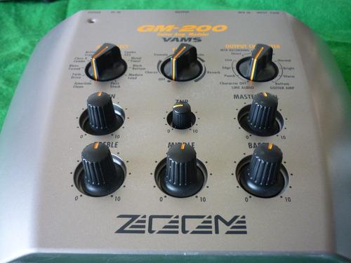 simulador de amplificador zoom gm-200