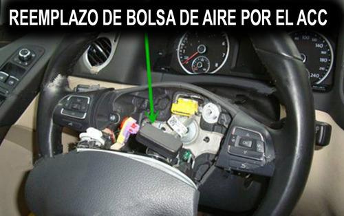 simulador de bolsa de aire mayoreo 10 piezas airbag srs acc