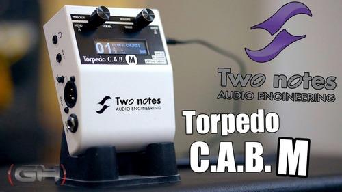 simulador de cajas y potencias two notes torpedo cab m