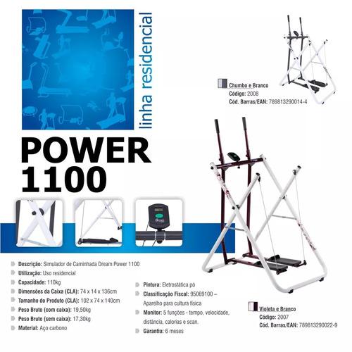simulador de caminhada dream power1100