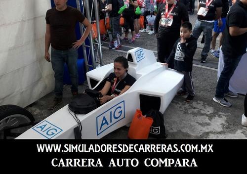 simulador de carreras,renta de simuladores, automoviles, vr