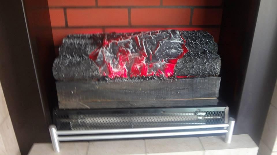 Simulador de fuego para chimenea electrica con calefaccion - Adaptar chimenea para calefaccion ...